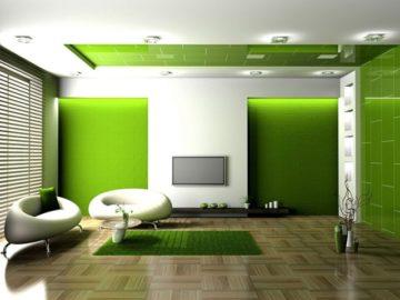zelenyj-cvet-v-interere