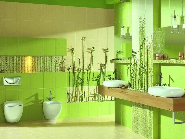 zelenyj-cvet-v-interere-vannoj