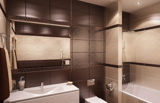 отделка ванной комнаты 3