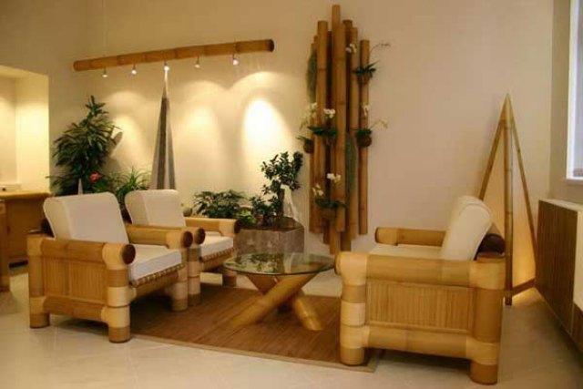 бамбук в интерьере 4