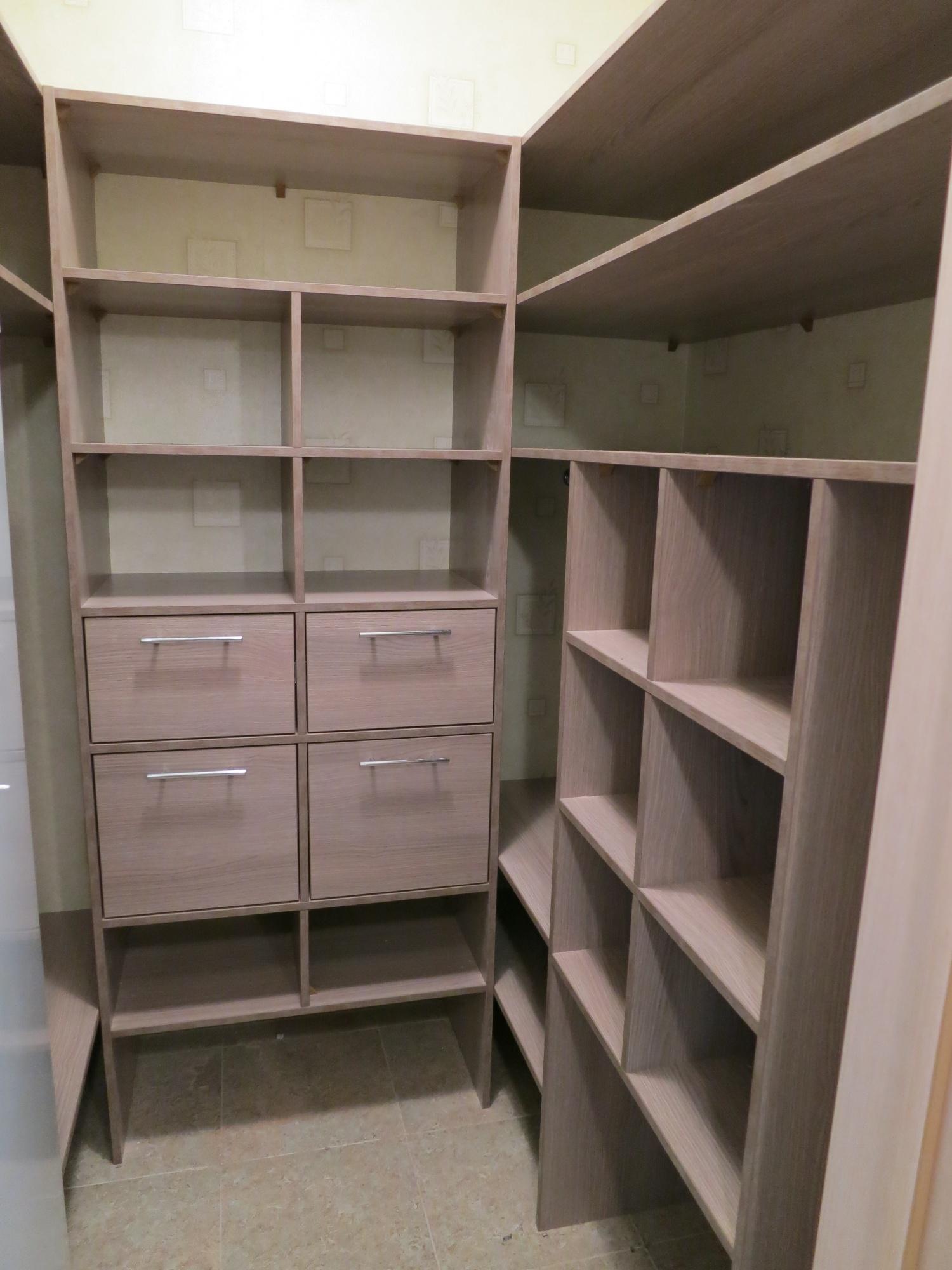 гардеробная комната 2