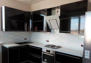 глянцевые кухонные фасады 1