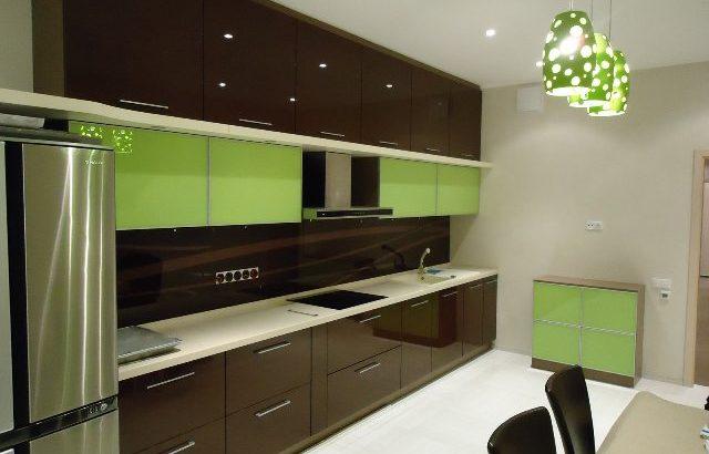 глянцевые кухонные фасады