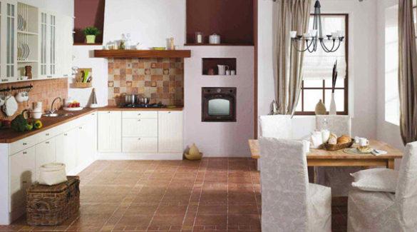 напольное покрытие для кухни 6