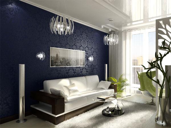 Дизайн интерьера гостиной комнаты1