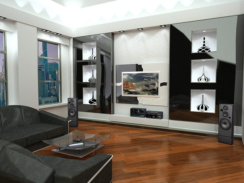 Дизайн интерьера гостиной комнаты3