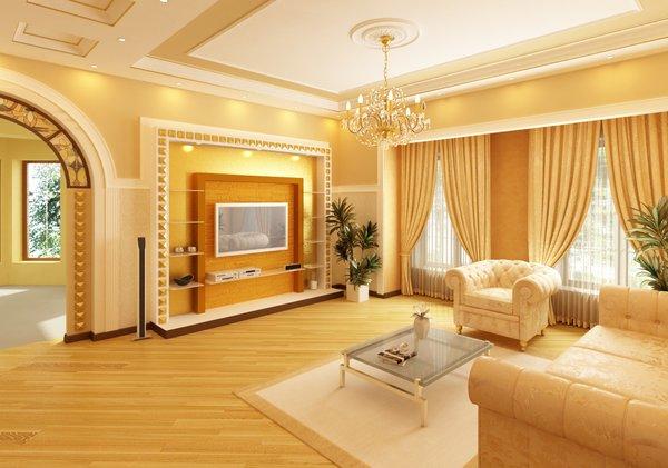 Дизайн интерьера гостиной комнаты6