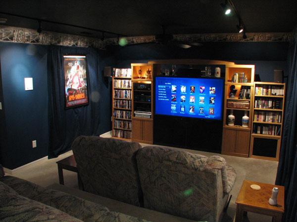 Комната для домашнего кинотеатра