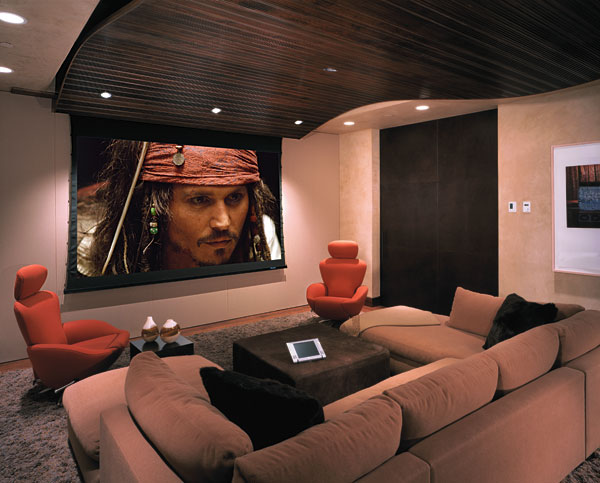Комната для домашнего кинотеатра1