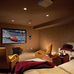 Комната для домашнего кинотеатра3