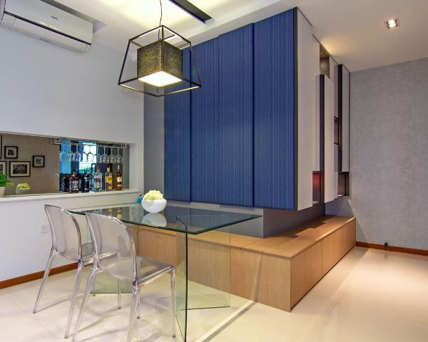 ассиметричный дизайн квартиры1