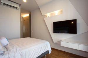 ассиметричный дизайн квартиры9