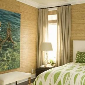 бамбуковые обои в интерьере3