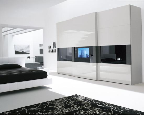 белая мебель в интерьере 1