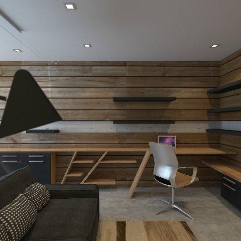 деревянная отделка стен_10