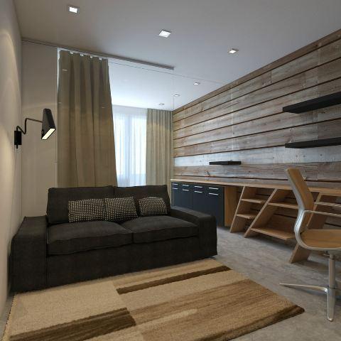 деревянная отделка стен_4