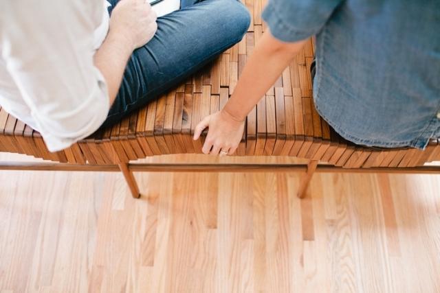 деревянная скамья2