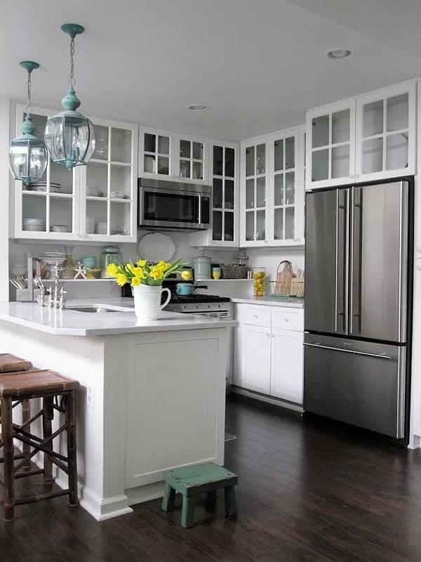 дизайн маленькой кухни1