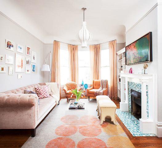 дизайн небольшой гостиной_4