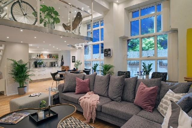 дизайнерские элементы в квартире1