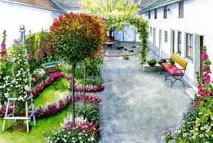 элегантный сад3
