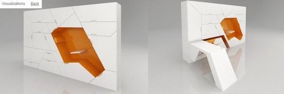 футуристическая мебель в стиле минимализм_10