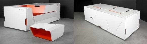 футуристическая мебель в стиле минимализм_2