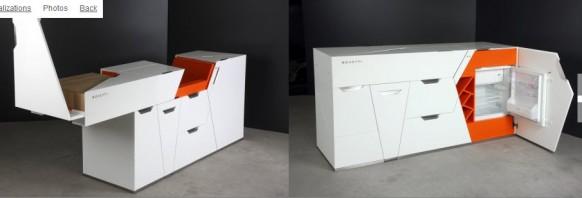 футуристическая мебель в стиле минимализм_5