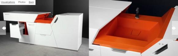 футуристическая мебель в стиле минимализм_6