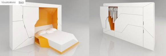 футуристическая мебель в стиле минимализм_8