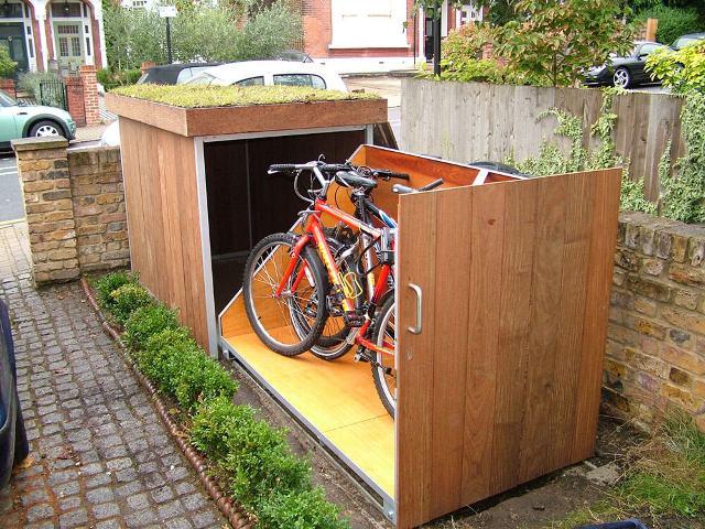 гараж для велосипедов