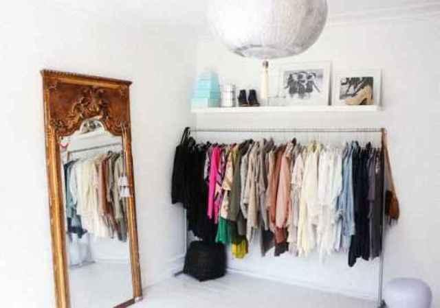 гардероб в интерьере спальни_2