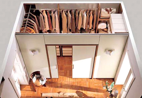 гардеробная в квартире