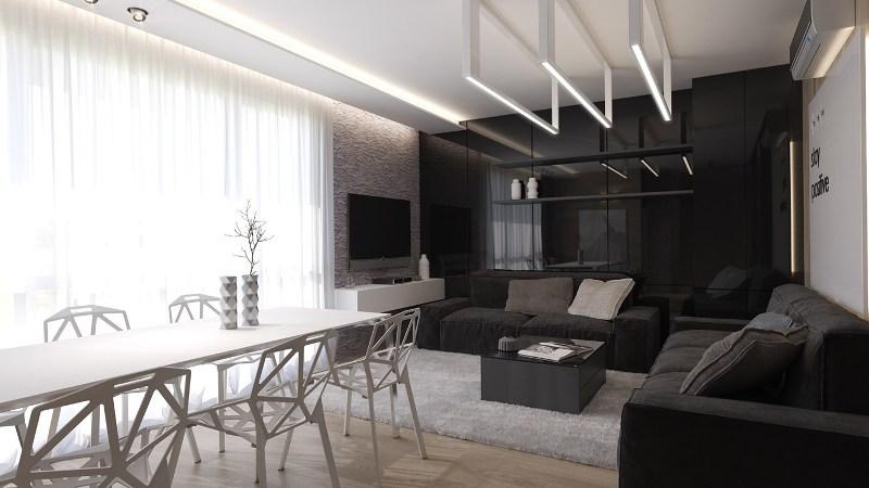 гостиная в черном цвете3