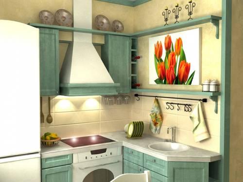 идеи для небольшой кухни