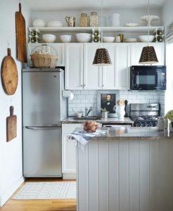 идеи интерьера маленькой кухни_1