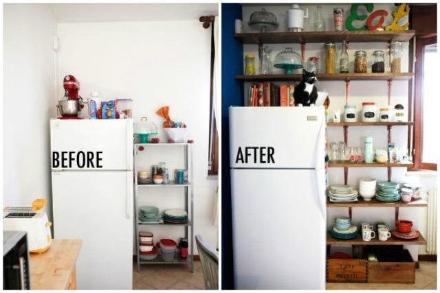 идеи интерьера маленькой кухни_5