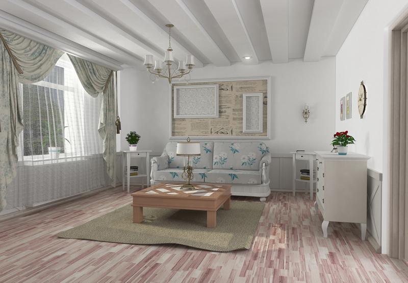 интерьер дома в стиле прованс1