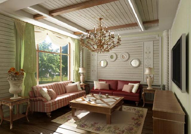интерьер дома в стиле прованс3