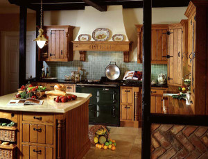 интерьер кухни в стиле кантри2