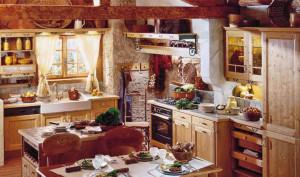 интерьер кухни в стиле кантри3