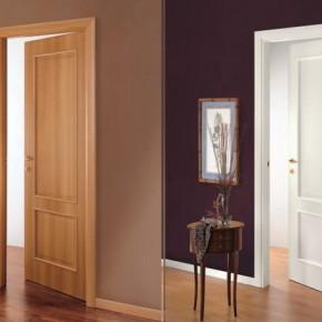 как подобрать двери к ламинату