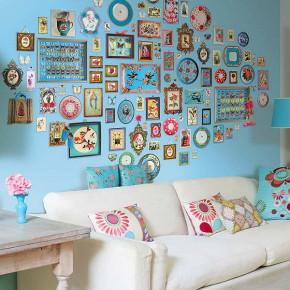как украсить стены в комнате