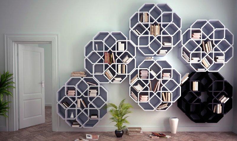 книжные полки в марокканском стиле4