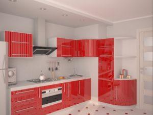 кухня в белом цвете1
