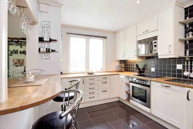 кухня в белых тонах7