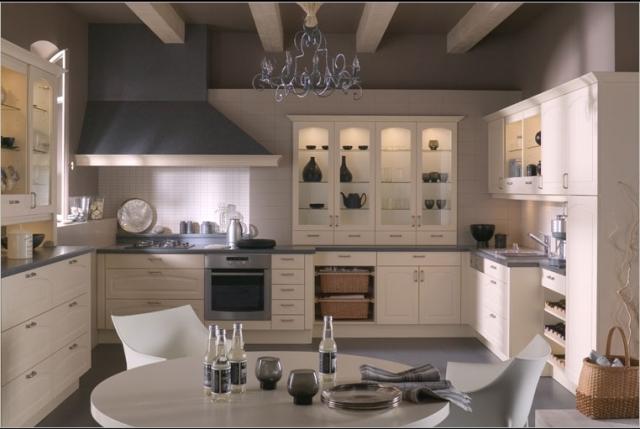 кухня в белых тонах4