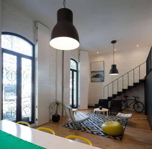 квартира в черно-белом цвете2