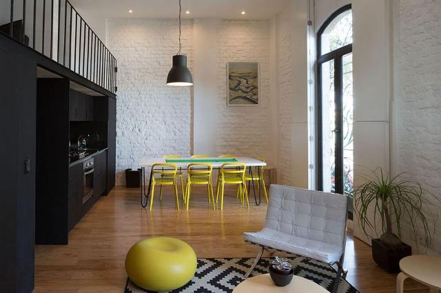 квартира в черно-белом цвете5