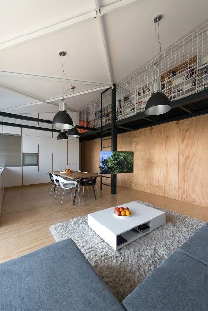 квартира в стиле лофт5